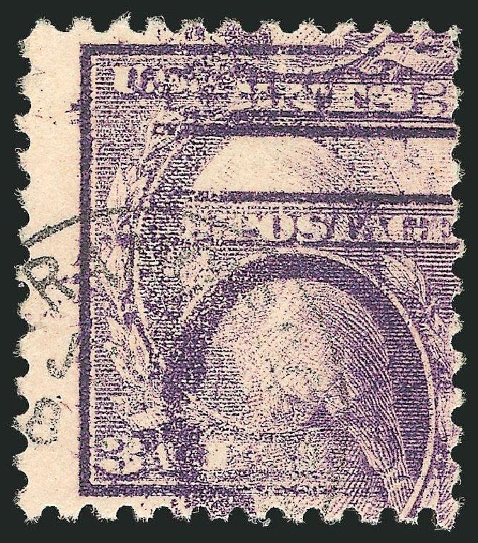 US Stamp Price Scott # 501: 1917 3c Washington Perf 11. Robert Siegel Auction Galleries, Sep 2012, Sale 1028, Lot 424