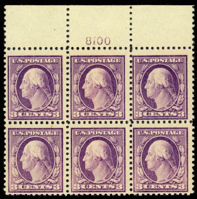 Prices of US Stamps Scott Catalogue 501 - 3c 1917 Washington Perf 11. Daniel Kelleher Auctions, Mar 2013, Sale 635, Lot 565