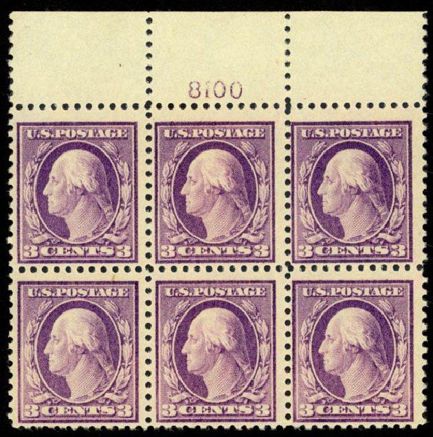 Prices of US Stamps Scott Catalogue 501 - 3c 1917 Washington Perf 11. Daniel Kelleher Auctions, Mar 2013, Sale 635, Lot 565