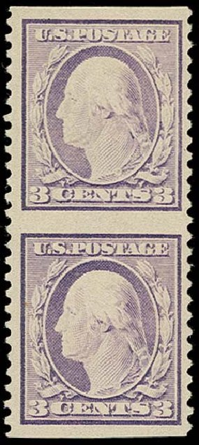 Values of US Stamp Scott Catalog 501 - 1917 3c Washington Perf 11. H.R. Harmer, Oct 2014, Sale 3006, Lot 1382