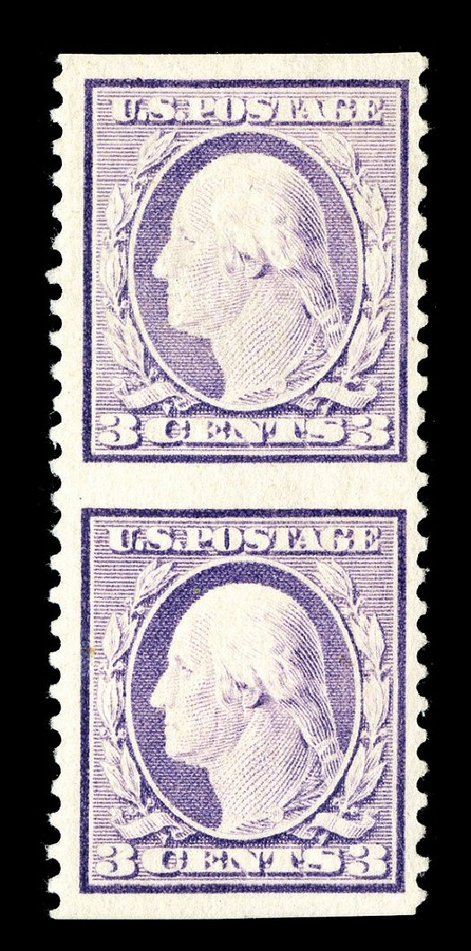 Prices of US Stamp Scott Cat. 501: 3c 1917 Washington Perf 11. Spink Shreves Galleries, May 2014, Sale 148, Lot 332