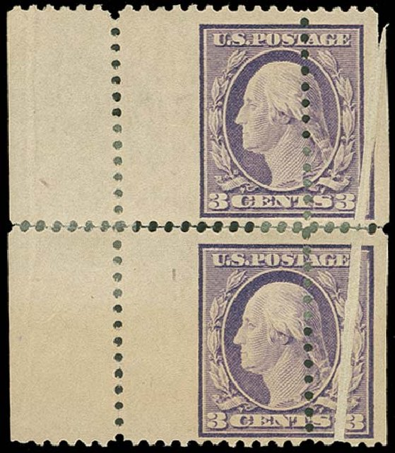 Value of US Stamps Scott Cat. 501: 3c 1917 Washington Perf 11. H.R. Harmer, Oct 2014, Sale 3006, Lot 1443