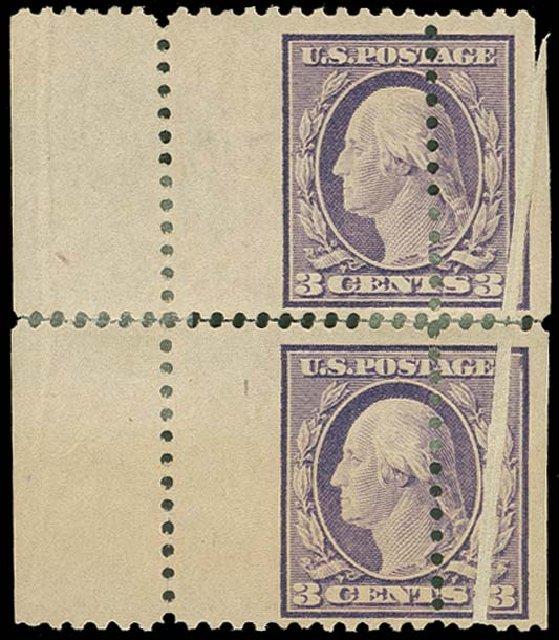 Value of US Stamps Scott Cat. 501: 3c 1917 Washington Perf 11. H.R. Harmer, Oct 2014, Sale 3006, Lot 1443