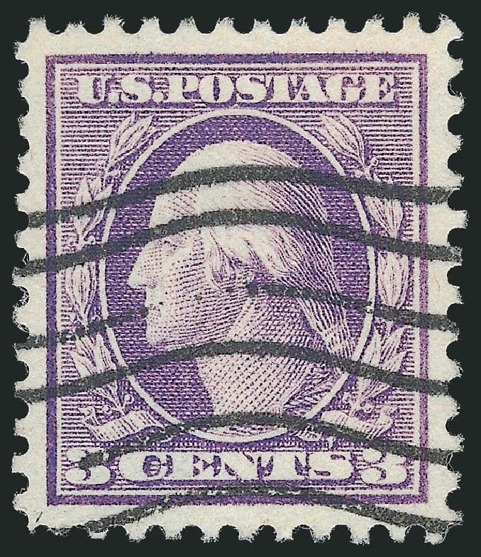 Value of US Stamps Scott Catalog # 501 - 3c 1917 Washington Perf 11. Robert Siegel Auction Galleries, Dec 2012, Sale 1037, Lot 2086