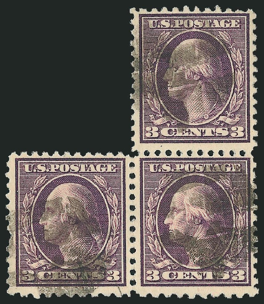 US Stamp Value Scott Catalog 502: 3c 1918 Washington Perf 11. Robert Siegel Auction Galleries, Sep 2012, Sale 1028, Lot 426
