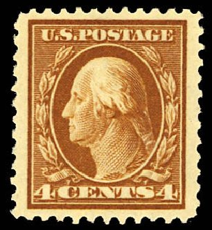 Price of US Stamp Scott Catalogue #503: 1917 4c Washington Perf 11. Daniel Kelleher Auctions, Dec 2012, Sale 633, Lot 878