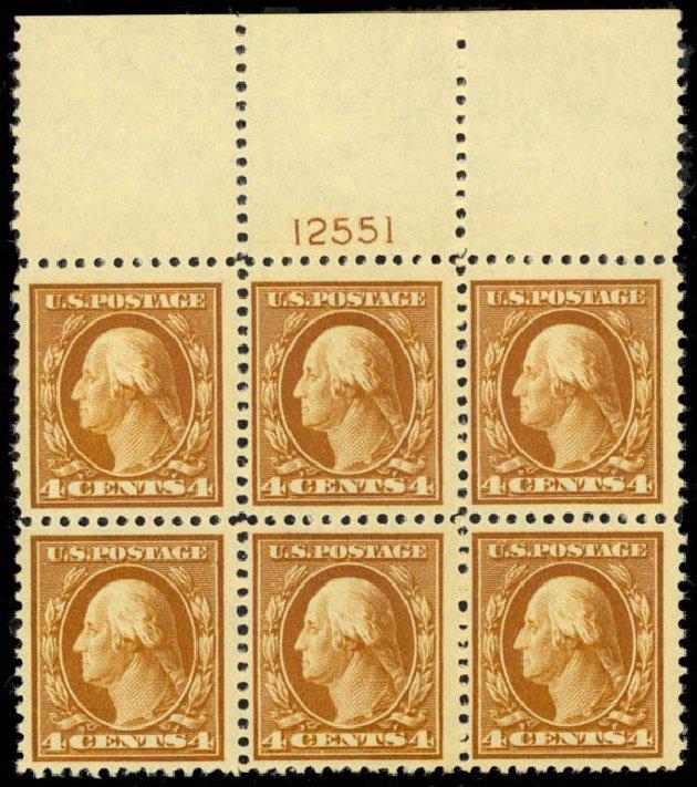 Value of US Stamps Scott #503 - 4c 1917 Washington Perf 11. Daniel Kelleher Auctions, Mar 2013, Sale 635, Lot 569