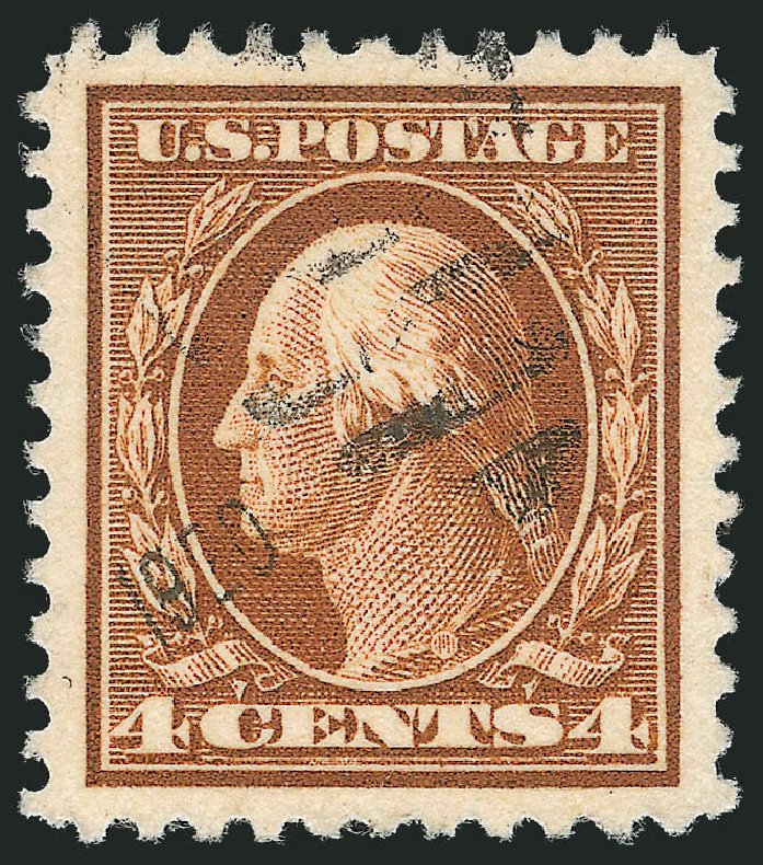 Prices of US Stamps Scott Catalogue #503 - 4c 1917 Washington Perf 11. Robert Siegel Auction Galleries, Oct 2012, Sale 1032, Lot 3590