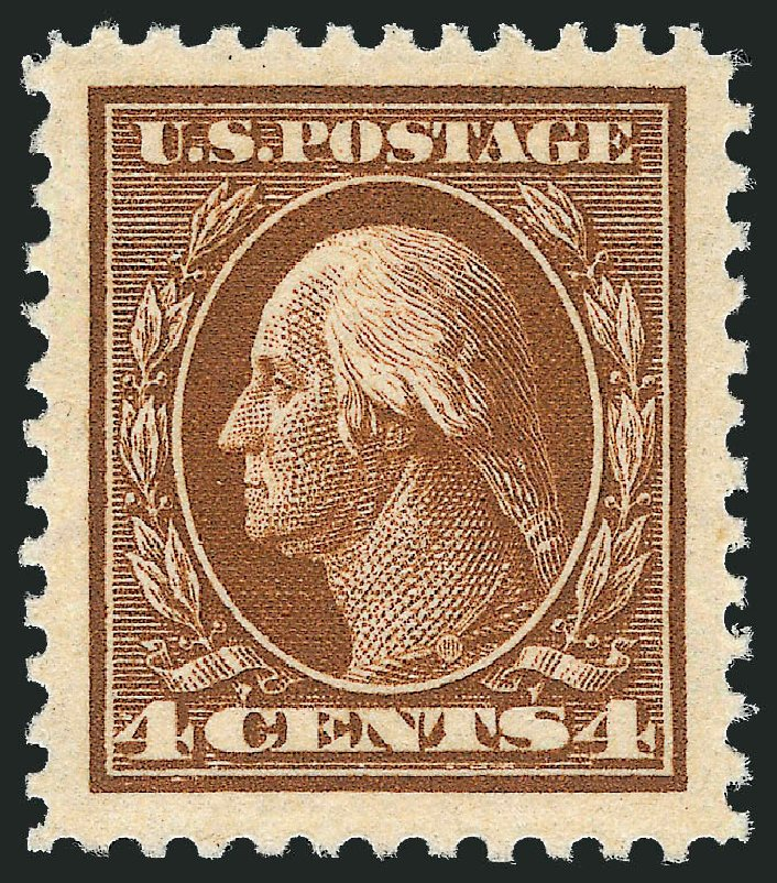 Price of US Stamp Scott Catalog # 503 - 1917 4c Washington Perf 11. Robert Siegel Auction Galleries, Dec 2013, Sale 1062, Lot 701