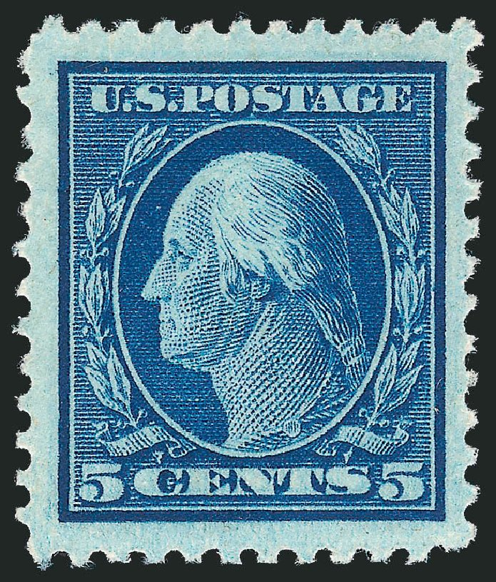 Costs of US Stamp Scott #504 - 5c 1917 Washington Perf 11. Robert Siegel Auction Galleries, Dec 2012, Sale 1037, Lot 2087