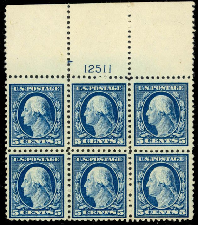 Price of US Stamp Scott Catalogue # 504: 1917 5c Washington Perf 11. Daniel Kelleher Auctions, Mar 2013, Sale 635, Lot 570