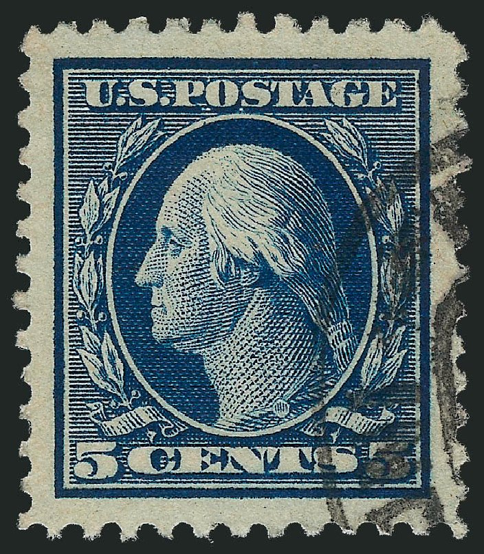 Price of US Stamps Scott Catalog # 504: 1917 5c Washington Perf 11. Robert Siegel Auction Galleries, Oct 2012, Sale 1032, Lot 3591