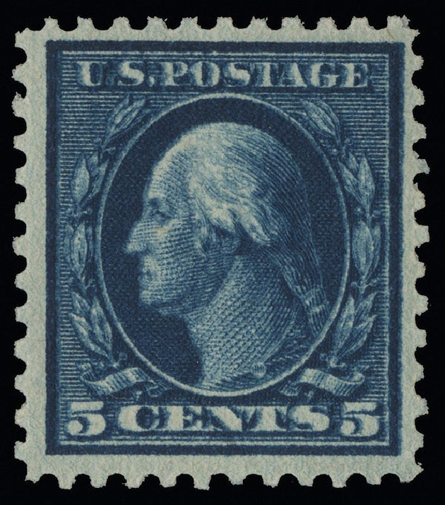 Prices of US Stamps Scott Cat. 504: 5c 1917 Washington Perf 11. Spink Shreves Galleries, Aug 2013, Sale 144, Lot 271