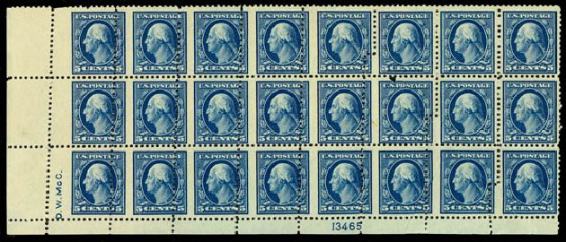 Prices of US Stamp Scott Cat. #504: 1917 5c Washington Perf 11. Daniel Kelleher Auctions, Jan 2015, Sale 663, Lot 1852