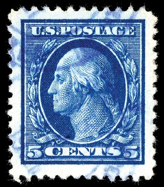 Prices of US Stamps Scott Catalog #504: 5c 1917 Washington Perf 11. Spink Shreves Galleries, May 2014, Sale 148, Lot 333