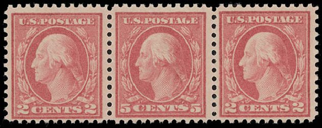 Price of US Stamps Scott Catalog #505: 5c 1917 Washington Perf 11 Error. Daniel Kelleher Auctions, Aug 2015, Sale 672, Lot 2768