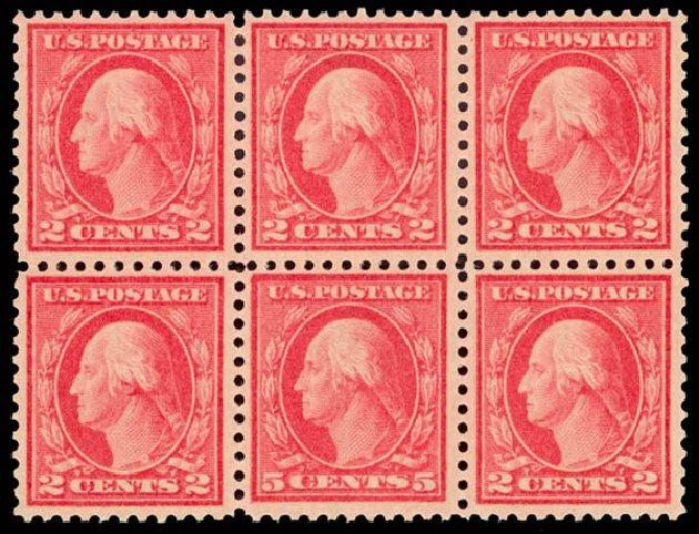 Prices of US Stamp Scott 505: 1917 5c Washington Perf 11 Error. Daniel Kelleher Auctions, Aug 2015, Sale 672, Lot 2769