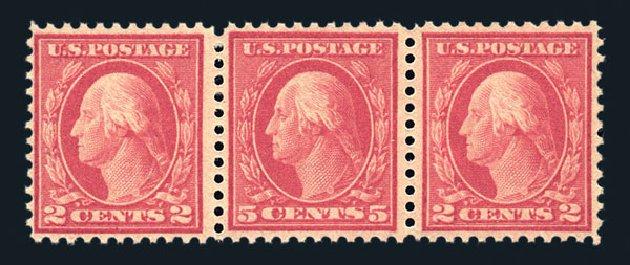 Cost of US Stamps Scott # 505: 1917 5c Washington Perf 11 Error. Harmer-Schau Auction Galleries, Aug 2015, Sale 106, Lot 1854