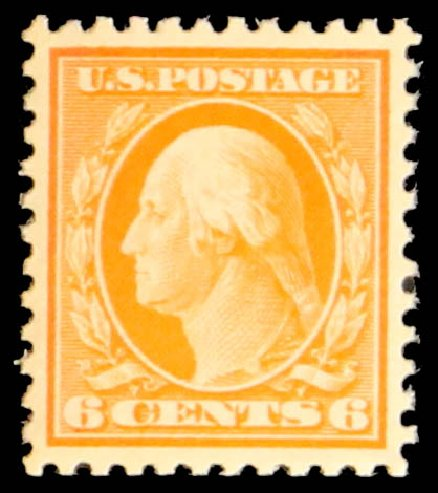 Values of US Stamp Scott # 506: 6c 1917 Washington Perf 11. Daniel Kelleher Auctions, May 2014, Sale 652, Lot 715