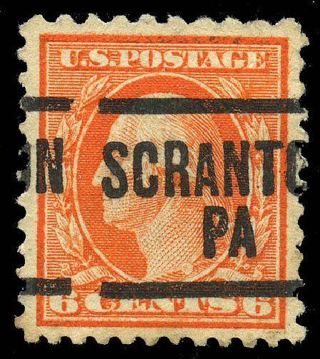 US Stamps Values Scott Catalog # 506 - 6c 1917 Washington Perf 11. Matthew Bennett International, Feb 2015, Sale 351, Lot 206