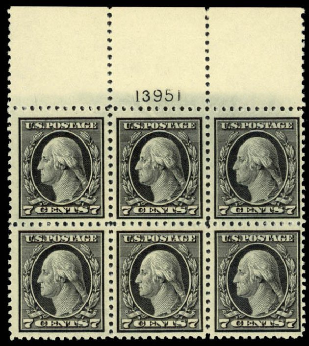 Cost of US Stamp Scott # 507 - 1917 7c Washington Perf 11. Daniel Kelleher Auctions, Mar 2013, Sale 635, Lot 574