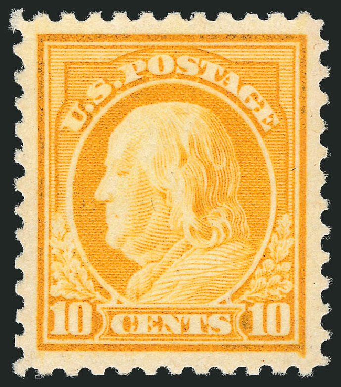 Prices of US Stamps Scott Catalog 510: 10c 1917 Franklin Perf 11. Robert Siegel Auction Galleries, Dec 2010, Sale 1000, Lot 1236