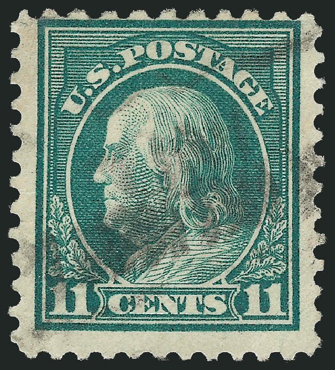 Prices of US Stamps Scott Catalogue #511: 1917 11c Franklin Perf 11. Robert Siegel Auction Galleries, Mar 2013, Sale 1040, Lot 1904