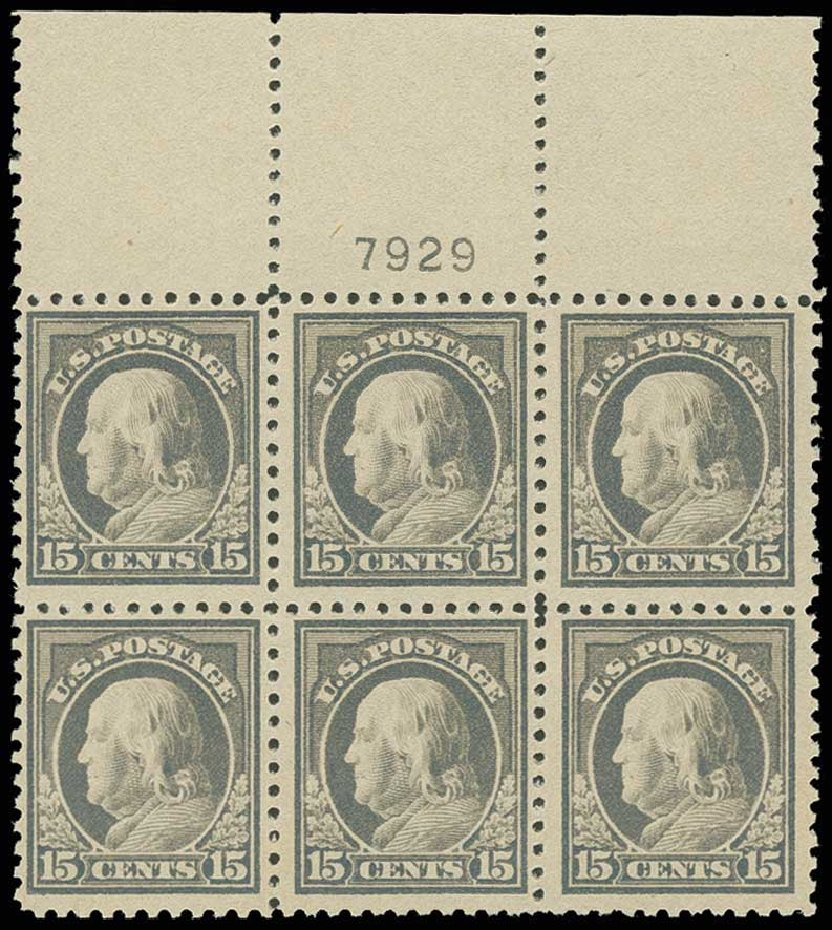 Price of US Stamp Scott Catalog 514: 15c 1917 Franklin Perf 11. H.R. Harmer, Jun 2013, Sale 3003, Lot 1359
