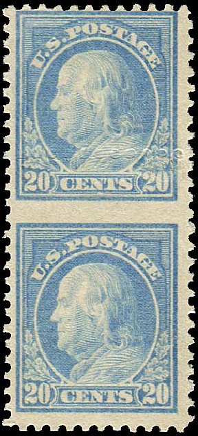 Costs of US Stamps Scott Catalog # 515: 1917 20c Franklin Perf 11. Regency-Superior, Aug 2015, Sale 112, Lot 1549