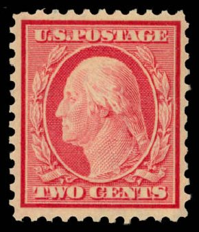 US Stamps Prices Scott Catalog # 519: 1c 1917 Washington Perf 11. Daniel Kelleher Auctions, May 2015, Sale 669, Lot 3108