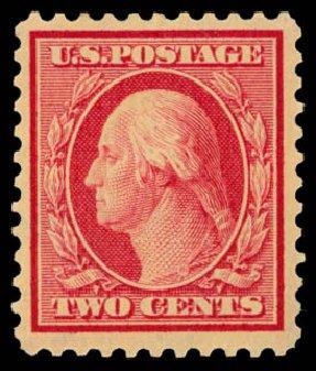 Value of US Stamps Scott # 519: 1c 1917 Washington Perf 11. Daniel Kelleher Auctions, Dec 2014, Sale 661, Lot 399