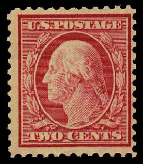 Prices of US Stamps Scott Cat. # 519: 1917 1c Washington Perf 11. Daniel Kelleher Auctions, May 2015, Sale 669, Lot 3110