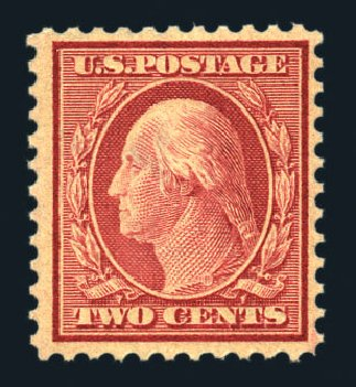 Value of US Stamps Scott Catalogue # 519: 1c 1917 Washington Perf 11. Harmer-Schau Auction Galleries, Aug 2015, Sale 106, Lot 1861
