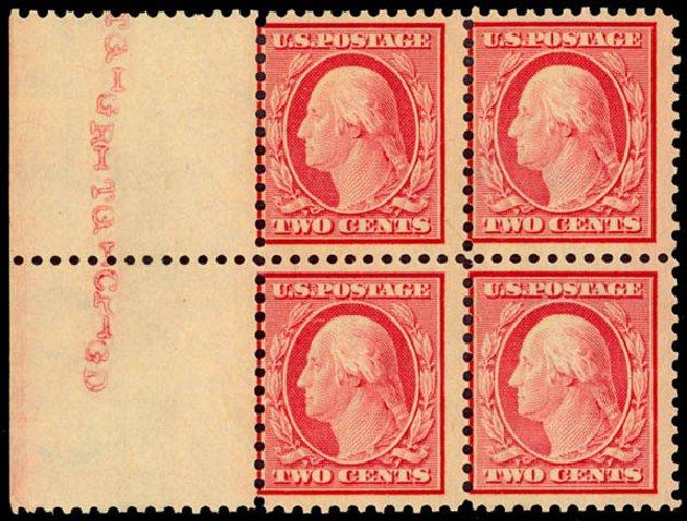 Value of US Stamp Scott Catalogue #519 - 1917 1c Washington Perf 11. Daniel Kelleher Auctions, Jan 2015, Sale 663, Lot 1862