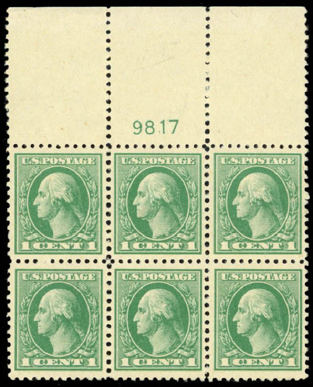 Cost of US Stamp Scott Catalogue # 525: 1918 1c Washington Offset Perf 11. Daniel Kelleher Auctions, Mar 2013, Sale 635, Lot 608