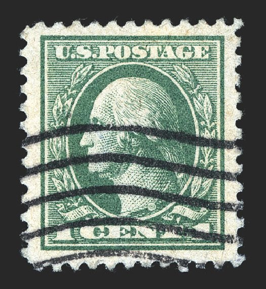 Cost of US Stamps Scott Cat. 525: 1c 1918 Washington Offset Perf 11. Spink Shreves Galleries, Mar 2013, Sale 142, Lot 378