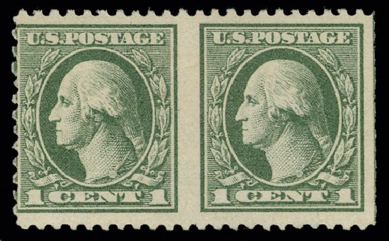 Prices of US Stamp Scott Catalogue 525 - 1c 1918 Washington Offset Perf 11. H.R. Harmer, May 2014, Sale 3005, Lot 1300