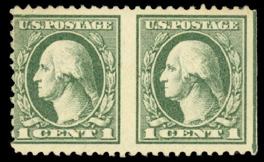 Cost of US Stamp Scott #525: 1918 1c Washington Offset Perf 11. Daniel Kelleher Auctions, Dec 2013, Sale 640, Lot 445