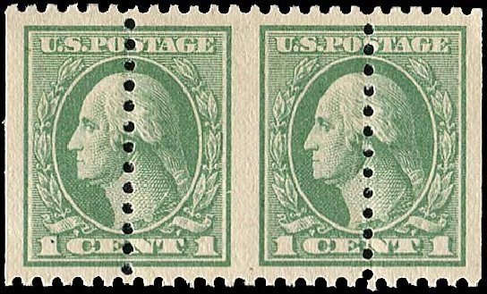 US Stamps Prices Scott Catalogue # 525: 1918 1c Washington Offset Perf 11. Regency-Superior, Nov 2014, Sale 108, Lot 1512