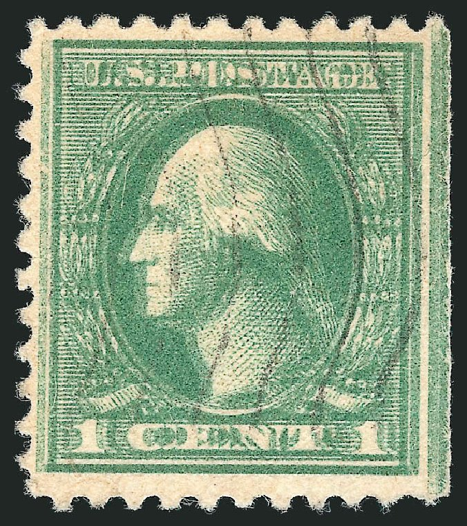 Prices of US Stamp Scott Catalogue # 525: 1c 1918 Washington Offset Perf 11. Robert Siegel Auction Galleries, Mar 2013, Sale 1040, Lot 1926