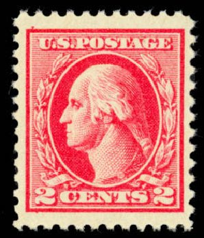 Cost of US Stamps Scott # 526: 1920 2c Washington Offset Perf 11. Daniel Kelleher Auctions, Mar 2013, Sale 635, Lot 610