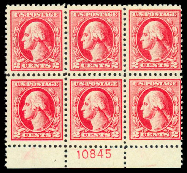 Costs of US Stamp Scott 526 - 1920 2c Washington Offset Perf 11. Daniel Kelleher Auctions, Sep 2013, Sale 639, Lot 450