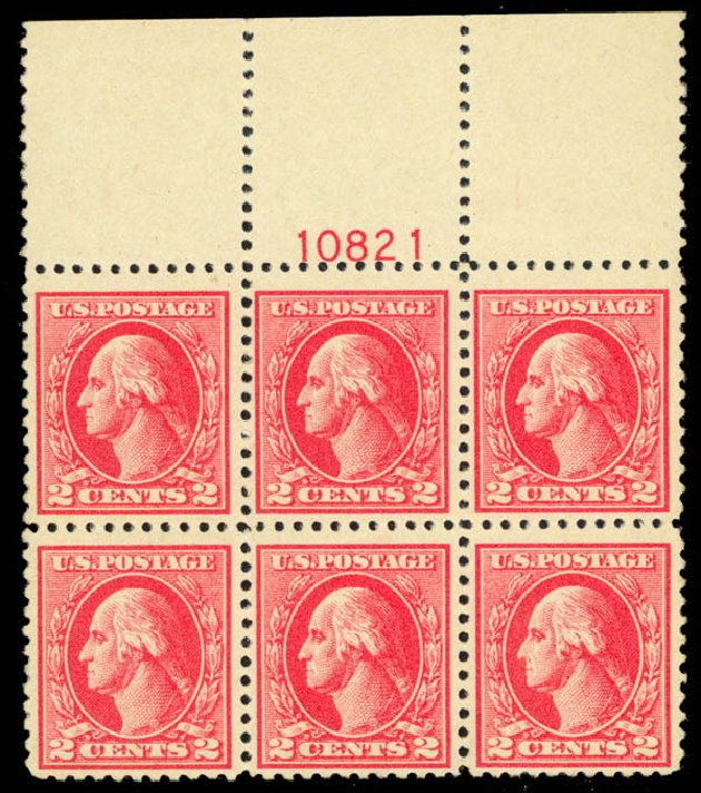 Prices of US Stamp Scott Catalogue # 526: 2c 1920 Washington Offset Perf 11. Daniel Kelleher Auctions, Apr 2013, Sale 636, Lot 402