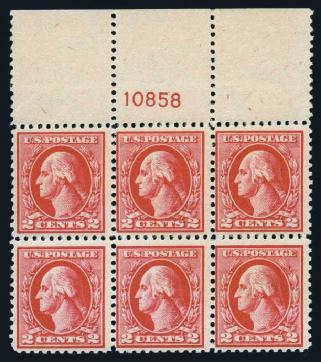Prices of US Stamps Scott 526: 2c 1920 Washington Offset Perf 11. Harmer-Schau Auction Galleries, Aug 2014, Sale 102, Lot 2066