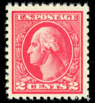 Value of US Stamps Scott Catalog 527: 2c 1920 Washington Offset Perf 11. Daniel Kelleher Auctions, Mar 2013, Sale 635, Lot 618