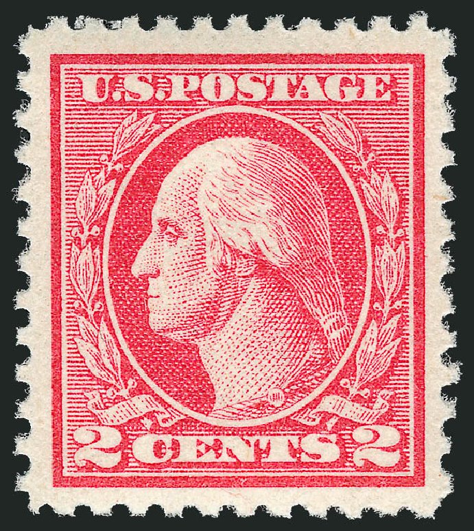 Values of US Stamps Scott Catalogue # 527: 1920 2c Washington Offset Perf 11. Robert Siegel Auction Galleries, Dec 2013, Sale 1062, Lot 719