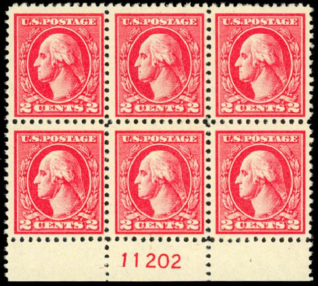 Costs of US Stamp Scott Catalogue # 527: 1920 2c Washington Offset Perf 11. Daniel Kelleher Auctions, Mar 2013, Sale 635, Lot 621