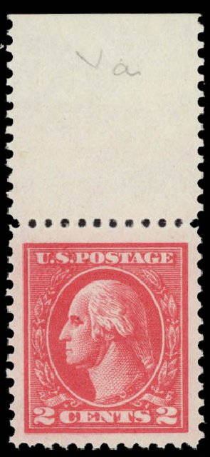 Cost of US Stamps Scott Catalog # 528 - 2c 1920 Washington Offset Perf 11. Daniel Kelleher Auctions, May 2015, Sale 669, Lot 3120