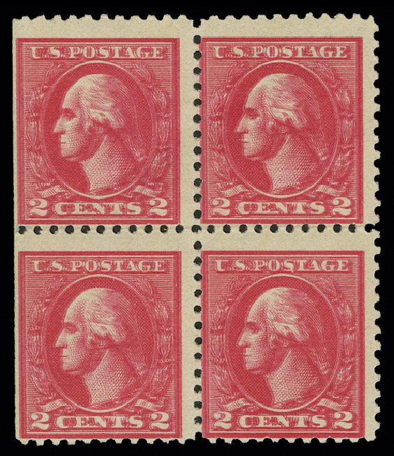 Price of US Stamps Scott # 528 - 2c 1920 Washington Offset Perf 11. H.R. Harmer, May 2014, Sale 3005, Lot 1301