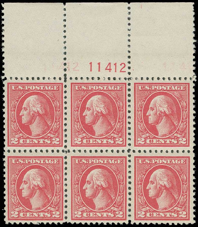 Prices of US Stamps Scott Catalog # 528 - 2c 1920 Washington Offset Perf 11. H.R. Harmer, Jun 2013, Sale 3003, Lot 1376
